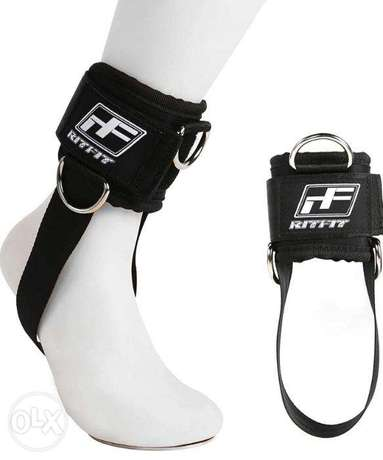 RitFit Padded Ankle Strap for Cable Machine,Strong Hook and Loo ,