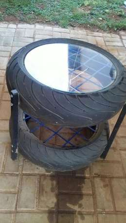 Set of tyre chairs Pretoria West - image 2