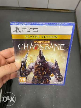 Warhammer Chaos Bane Slayer Edition PS5 New Arrival