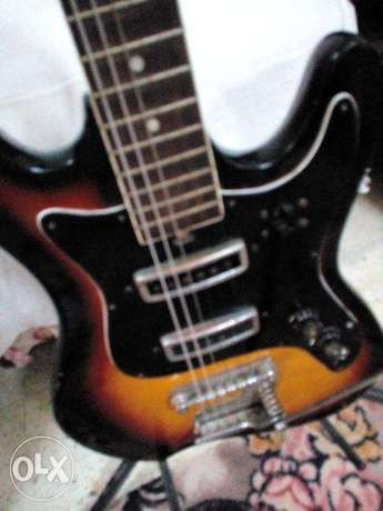 vintage Audition 7002 electric guitar by Teisco / Kawai