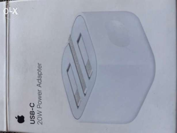 apple 20W charging adapter