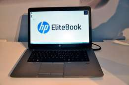 new Sleek laptop HP 850 corei5 6gb 500ssd with backlight at 39500