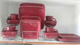 Selling Square 16 Piece Dinner Plate and Kitchenware item