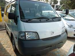 Nissan vanette 2009 model manual and automatic