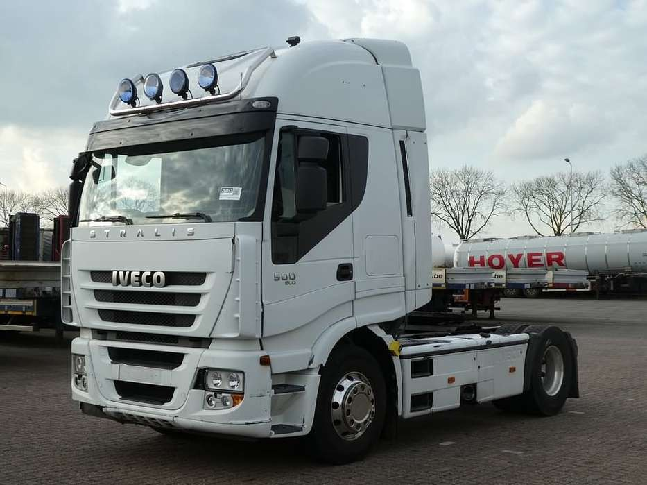 Iveco AS440S50 STRALIS retarder,alu rims - 2011