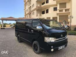 Slightly Used Toyota Hiace Auto Diesel