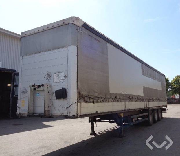 Schmitz Cargobull S01 (Export only) 3-axlar Curtain Trailer - 13 - 2013