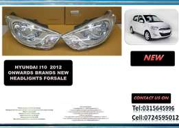 Hyundai i10 2012 ONWARDS New headlights for sale Price:R1695