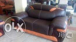 Quality Leather Sofa Settee (7-Seater)