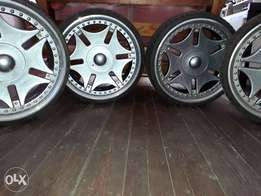 Repost..20inc maggs and tyres R3500