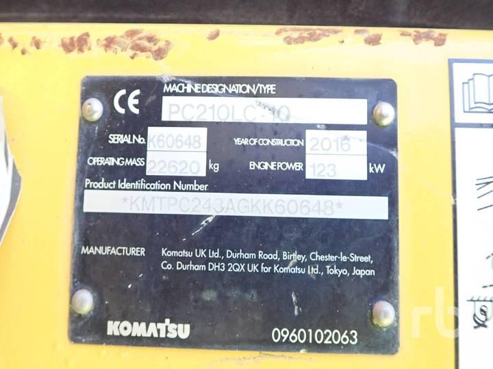 Komatsu PC210LC-10 - 2016 - image 5