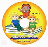 Holiday Educational materials for kids in Dvd or Softcopy form.