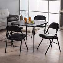 Folding Table and Chairs 5 piece cheap