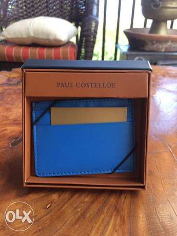 Original Paul Costelloe genuine leather card holder