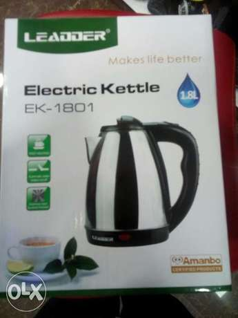 Leadder electric kettles one warrant Nairobi CBD - image 1