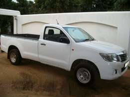 2016 toyota hilux 2.5d4d single cab long base
