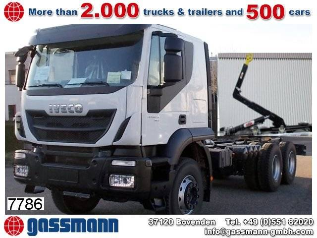 Iveco trakker ad260t45 6x4 standheizung/autom./klima