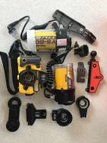Sea & Sea Motor Marine IIEX Underwater Film Camera and accessories