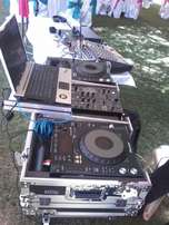 dj turntables for hire
