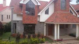 4 bedroomed all ensuit townhouse to let in lavington