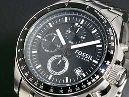 Fossil Mens stainless steel