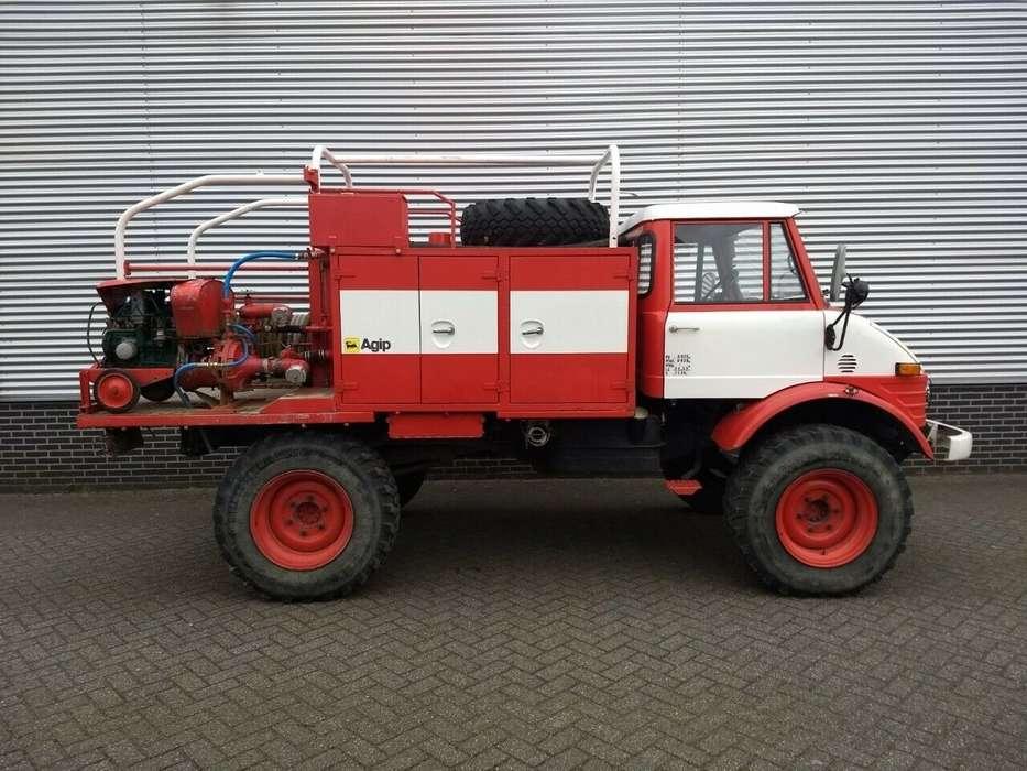 Unimog 416 416 brandweer snelle assen 125 pk - 1976 - image 6