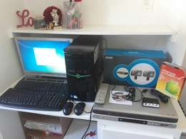 Acer E Machine + CCTV kit + DVD/VCR + Video to PC recording device