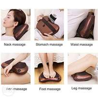 Full body head back neck rolling Kneading massager for home and car