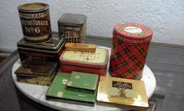 Collectable Tins from R30 to R200