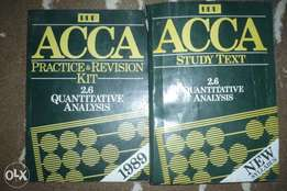 ACCA Quantitative Analysis 2.6