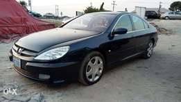Smooth Driving Nig Used 2002 Peugeot 607 With Auto Leather Cold AC.