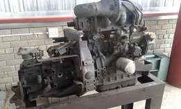 Yanmar 3 cylinder engine with flame proof components