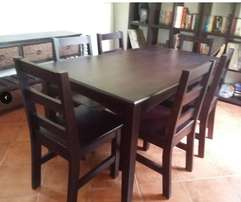 Dining table set (7pc)