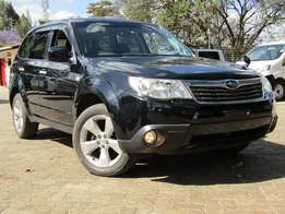 Subaru Forester Black in Color
