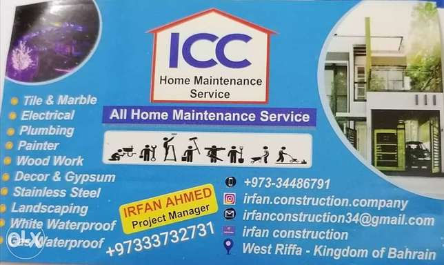 All home & office & maintenance services