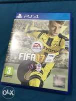 Fifa 17 for PS4 used in excellent condition quick sale