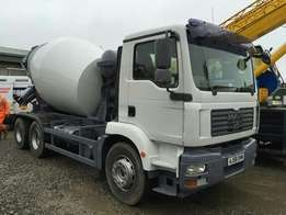 Man TGM 26.280 Concrete Mixer 2009 Day Cab 6 By 4