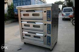 Bread gas oven 3deck 6trays