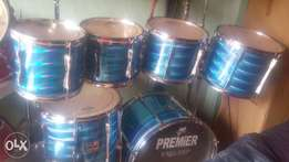 7 piece(set)Premier professional drums
