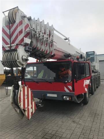 Liebherr LTM 1160/2 10X8, KLAPPSPITZE, 2.WINDE
