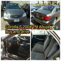 Good and Affordable Corolla S