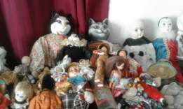 84 Collectible Dolls.