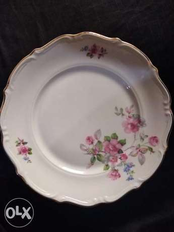 Dinnerware china set Tielsch Walbrzych or half the set