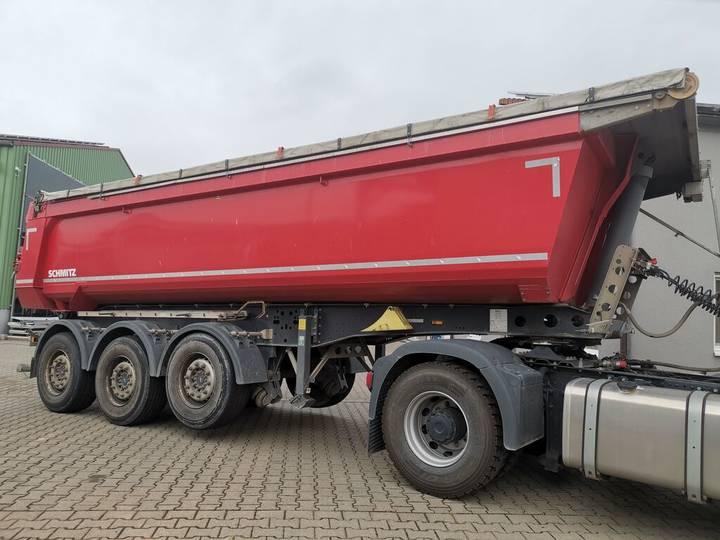 Schmitz Cargobull SKI 24 SL 7.2  24 m³ elektrisches Verdeck Waage - 2014