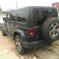 Super Neat Tokunbo Jeep Wrangler 2016 Model