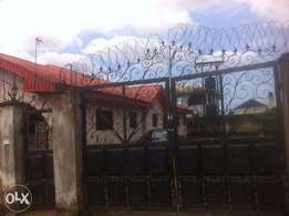 2 flat for sale at irhirhi benin city on a dimension of 100x100