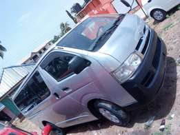 Toyota Hiace home used with chilling AC .