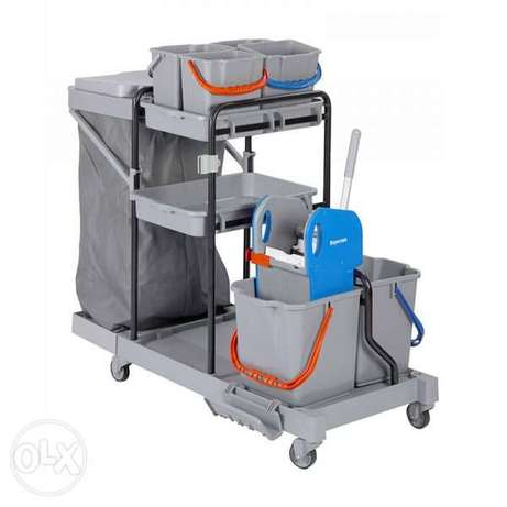 Cleaning Trolley - Open Type