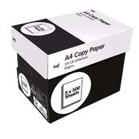 A4 White Copy Paper 80GSM Carton