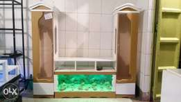 Aquatic wall unit